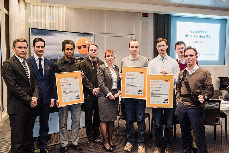 MINDS-Medical erhält Entega Sonderpreis für Startups zur Digitalisierung